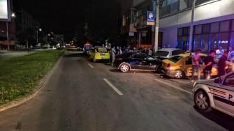 Cinci persoane au fost rănite în urma accidentului rutier. FOTO IPJ Constanța