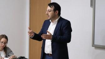 "Cosmin Filip, responsabil de proiect ""iManager și iAntreprenori"". FOTO Adrian Boioglu"
