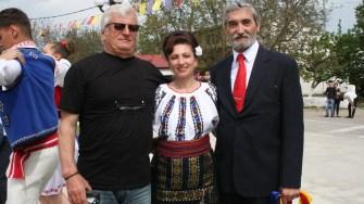 Primarul Gigel Sava, la Ziua Comunei Horia. FOTO Ctnews.ro