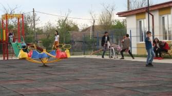 Loc de joacă din comuna Horia. FOTO Ctnews.ro