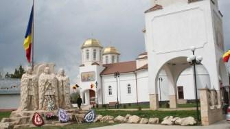 Statuia lui Horea, Cloşca şi Crişan din comuna Horia. FOTO Ctnews.ro