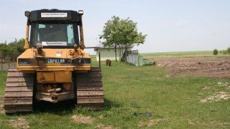 Lucrări petnru realizarea unei grădinițe în Negru Vodă. FOTO Ctnews.ro