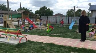 Loc de joacă în comuna Oltina. FOTO Ctnews.ro