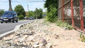 Mai mult străzi din Poarta Albă sunt asfaltate. FOTO Ctnews.ro
