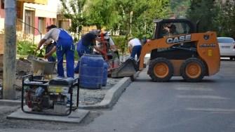 Lucrări de asfaltare în Cernavodă. FOTO Ctnews.ro????????????