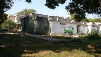 Clădire aparținând Biroului de Turism pentru Tineret din Costinești. FOTO Ctnews.ro