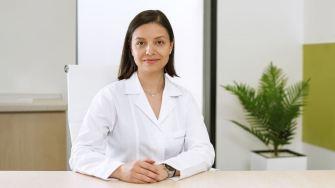 Medicul hematolog Elena Călin de la Ovidius Clinical Hospital