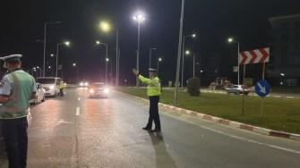 Polițiștii constănțeni au ieșit în număr mare pe șosele. FOTO IPJ Constanța