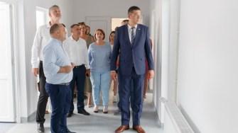 Președintele CJ Constanța, Marius Horia Țuțuianu a participat la predarea imobilului Centrului de Sănătate Năvodari. FOTO CJ Constanța