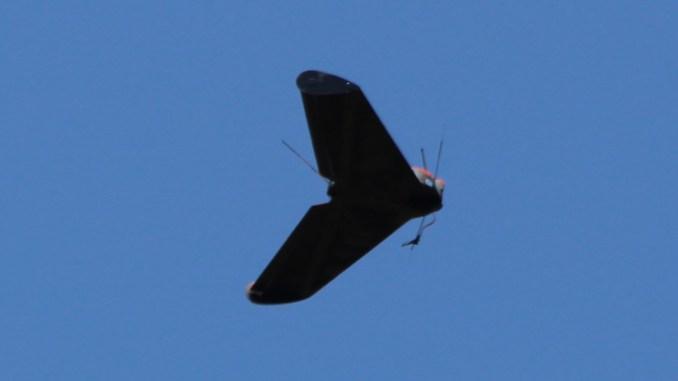 Avion fără pilot lansat la Capu Midia. FOTO ROAF