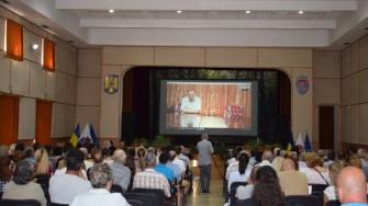 La Cumpăna a avut loc o dezbatere publică pentru a se discuta problemele și planurile pentru comună. FOTO Primăria Cumpăna