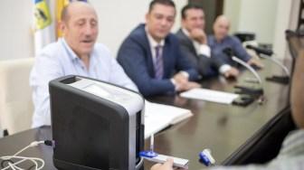 Consiliul Județean Constanța a predat cinci aparate de tip Drug Test către IPJ Constanța. FOTO CJ Constanța ,