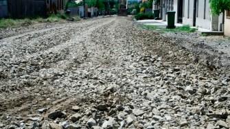 Lucrări de asfaltare în comuna Lumina. FOTO Ctnews.ro