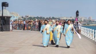 IPS Teodosie a ținut o slujbă religioasă. FOTO Cătălin SCHIPOR