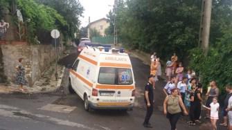 Echipajul medical a acordat îngrijiri răniților. FOTO ISU Dobrogea