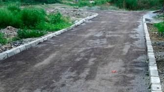 Primaria Harsova modernizeraza trotuarele, după ce a asfaltat străzile din oraș. FOTO Ctnews.ro