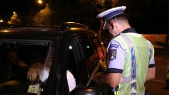 Razie a polițiștilor constănțeni în Mamaia. FOTO Adrian Boioglu