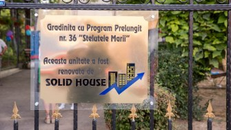 Gradinița Steluțele Mării a fost renovată de echipa Solid House. FOTO Solid House Constanța