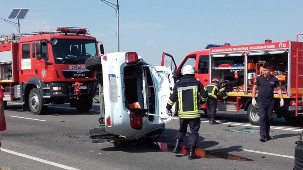 accident DN 2A ovidiu (5)