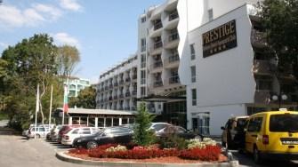 Hotelul Prestige Deluxe Aqua Park Club din Nisipurile de Aur. FOTO CTnews.ro