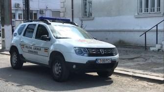 Mașină a Poliției Locale Cernavodă. FOTO Cristina Niță
