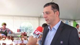 Președintele Consiliului Județean Constanța, Marius Horia Țuțuianu, la Sărbătoarea Tradițiilor și Meșteșugurilor Dobrogene. FOTO CTnews.ro