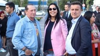 Ivan Patzachin, Mirela Matichescu și Cătălin Țibuleac, la Sărbătoarea Tradițiilor și Meșteșugurilor Dobrogene. FOTO CTnews.ro