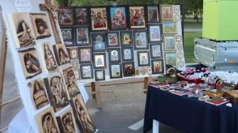 Expoziție de icoane la Sărbătoarea Tradițiilor și Meșteșugurilor Dobrogene. FOTO CTnews.ro