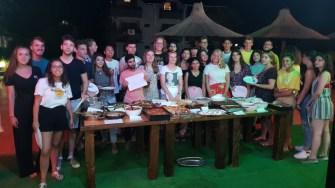 Copii participanți la tabăra internațională Corbu - Black Sea Camp România. FOTO Lions Club