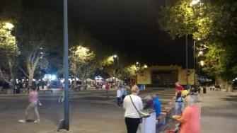 Piațeta Cazinoului, un loc pustiu și bântuit de faima de altă dată. FOTO Cătălin SCHIPOR