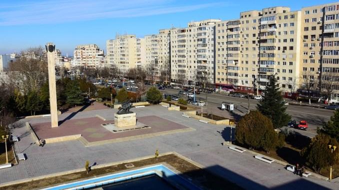 Zona Casei de Cultură Constanța. FOTO PMC