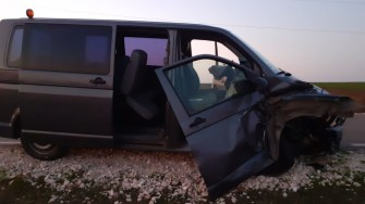 Șapte persoane au ajuns la spital în urma accidentului rutier. FOTO CTnews.ro