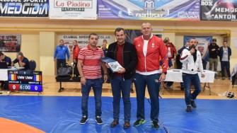 """Sala Sporturilor """"Iftimie Ilisei"""" din Medgidia. a fost gazda Campionatului Național Individual de Lupte 2019, destinat juniorilor mici. FOTO Facebook/Clubul Sportiv Medgidia"""