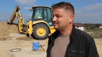 Silviu Bănuță, inginer în cadrul Primăriei Cernavodă. FOTO CTnews.ro