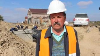 Marius Comănescu, șef de șantier pentru rețeaua de termoficare. FOTO CTnews.ro
