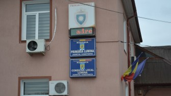 Primăria comunei Lumina. FOTO CTnews.ro