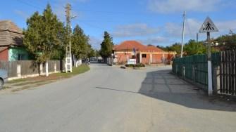 Stradă din comuna Seimeni. FOTO CTnews.ro
