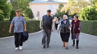 Vârstnicii au petrecut de ziua lor la Căminul Cultural din Cumpăna. FOTO Primăria Cumpăna