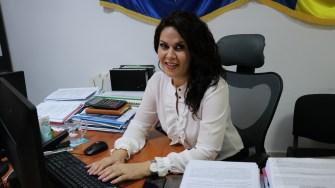 Laura Nicolescu de la Primăria Cernavodă. FOTO CTnews.ro