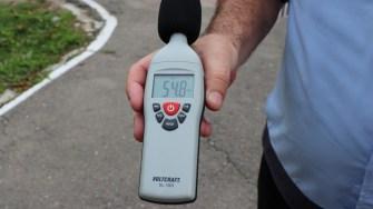 Sonometru folosit de Poliția Locală Hârșova. FOTO CTnews.ro