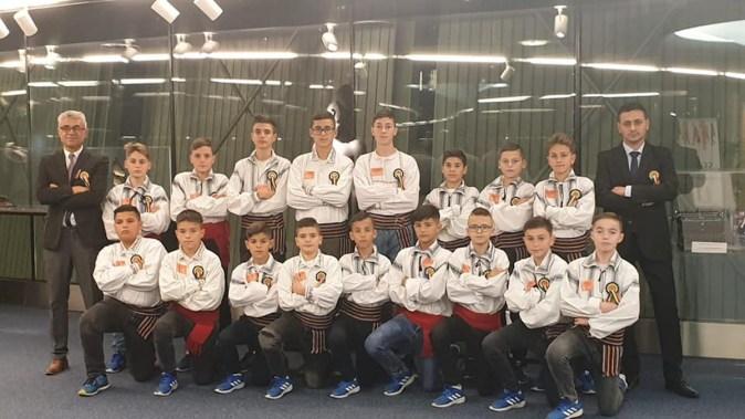 Fotbaliștii din Cumpăna s-au întors din vizita de la Bruxelles. FOTO Primăria Cumpăna