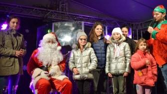 Moș Crăciun a poposit și în Orășelul Copiilor din Cumpăna. FOTO Primăria Cumpăna