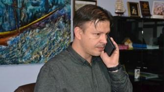Primarul orașului Hârșova, Viorel Ionescu. FOTO CTnews.ro