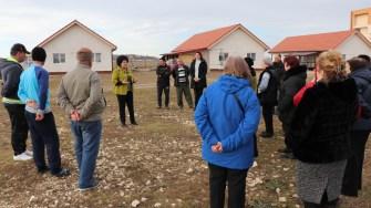 Mariana Gâju a organizat o excursie cu localnicii în Cumpăna. FOTO Adrian Boioglu