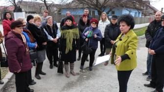 Mariana Gâju a organizat o excursie pentru localnicii în Cumpăna. FOTO Adrian Boioglu