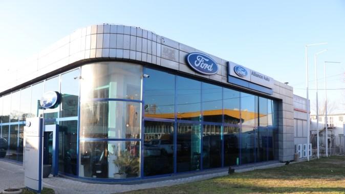 Sediul Ford Alliance Auto Constanța. FOTO Adrian Boioglu