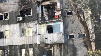 Explozia a distrus apartamentul. FOTO CTnews.ro