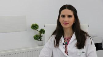 Dr. Mihaela Radu, medic specialist - Dermatologie la Policlinica OCH Constanța. FOTO Adrian Boioglu