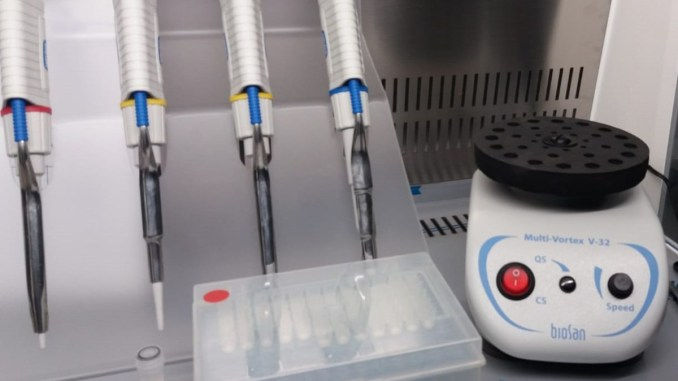Laborator de biologie moleculară la Spitalul Județean Constanța. FOTO Spitalul Județean Constanța