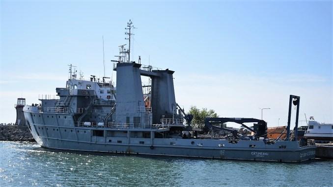 """Nava maritimă hidrografică """"Căpitan-comandor Alexandru Cătuneanu"""" FOTO: Forțele Navale"""